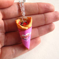 Tokyo Crepe Necklace by FatallyFeminine