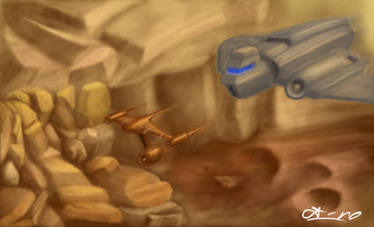 Desert Chase by DrD-no