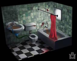 Bathroom by DrD-no