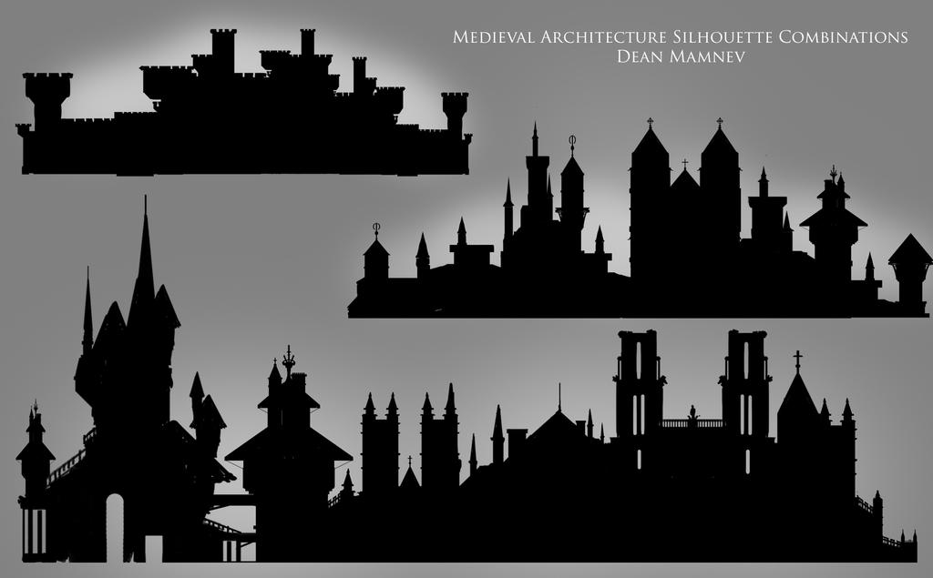 Medieval Architecture by DrD-no