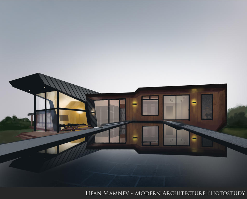 Modern Architecture photo study by DrD-no