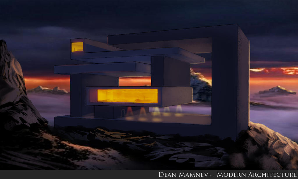 Modern Architecture 2 by DrD-no
