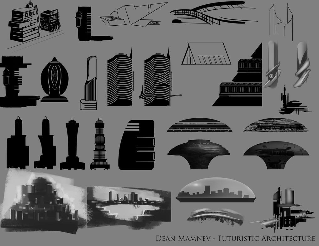 Futuristic Architecture 1 by DrD-no