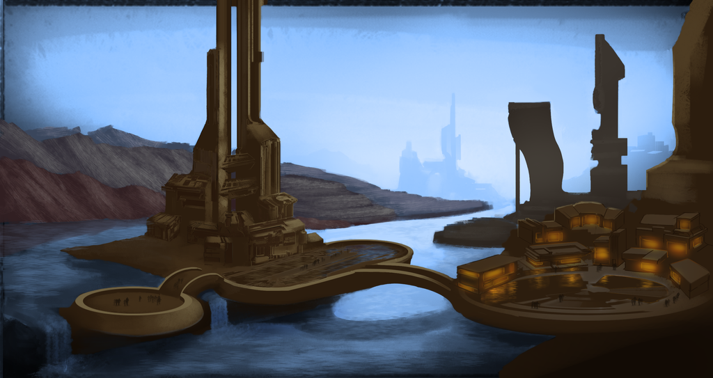 Port Harbor - Colored by DrD-no