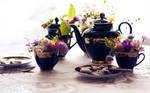 . : blooming tea time : .