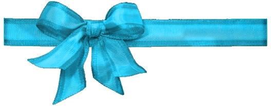 Kawaii Blog Design : Masni png Blue Ribbons Png