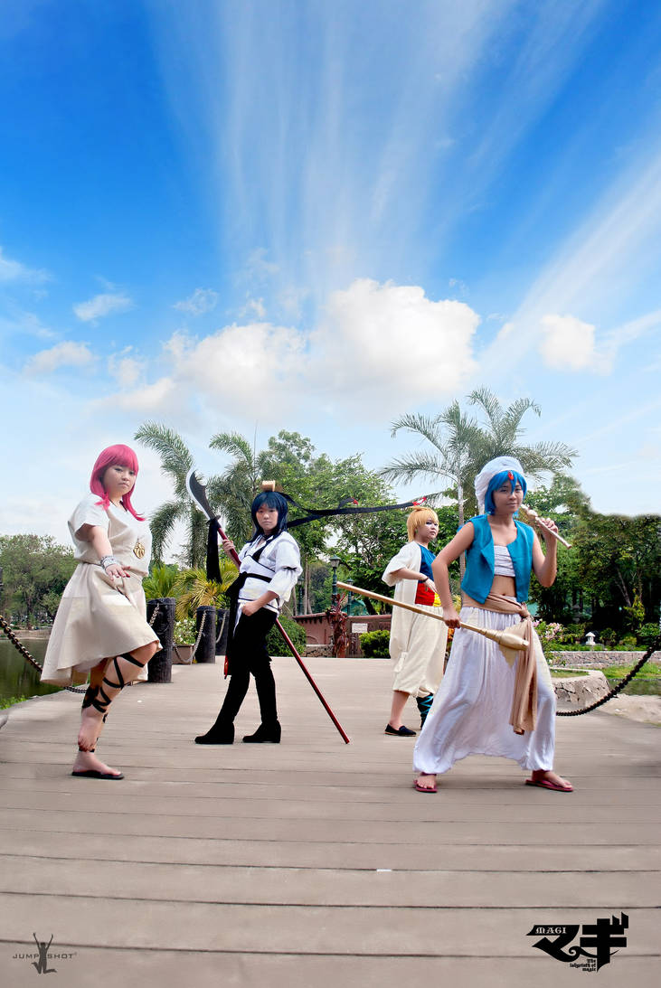 Magi: The Labyrinth of Magic by japepong