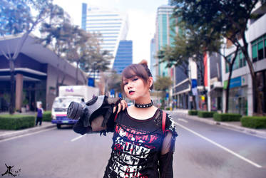 Street Fashion with Maiq by japepong
