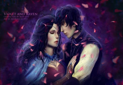 Violet and Raven