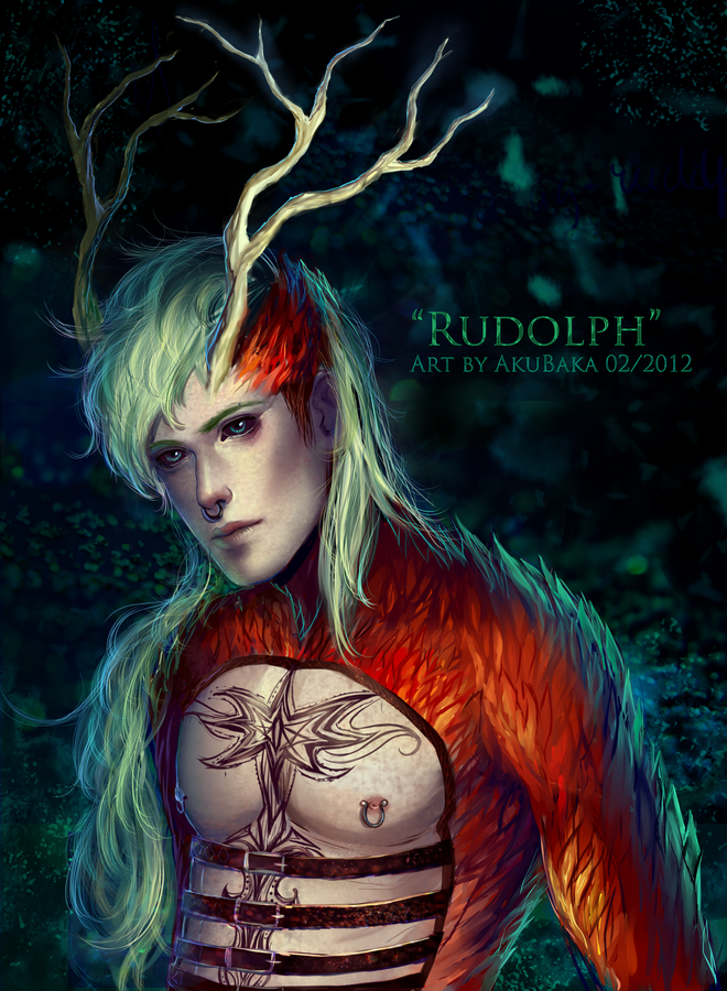 Rudolph by AkubakaArts