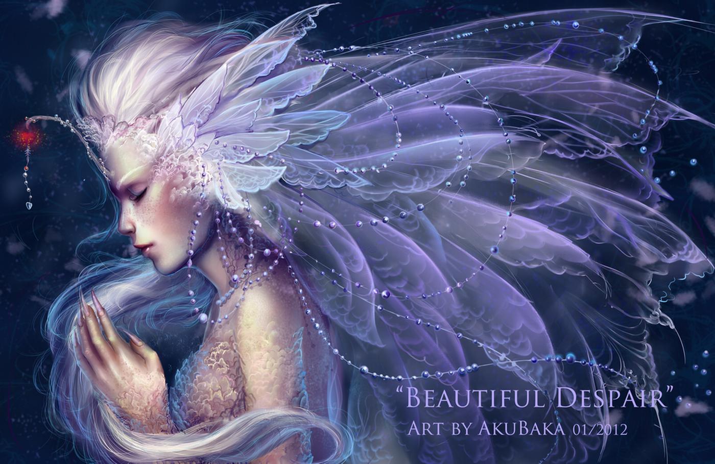 Beautiful Despair by AkubakaArts