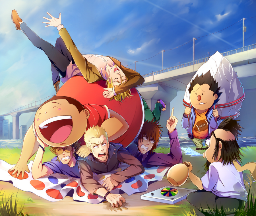 The Real Eyeshield 21: Funny Twister By AkubakaArts On DeviantArt