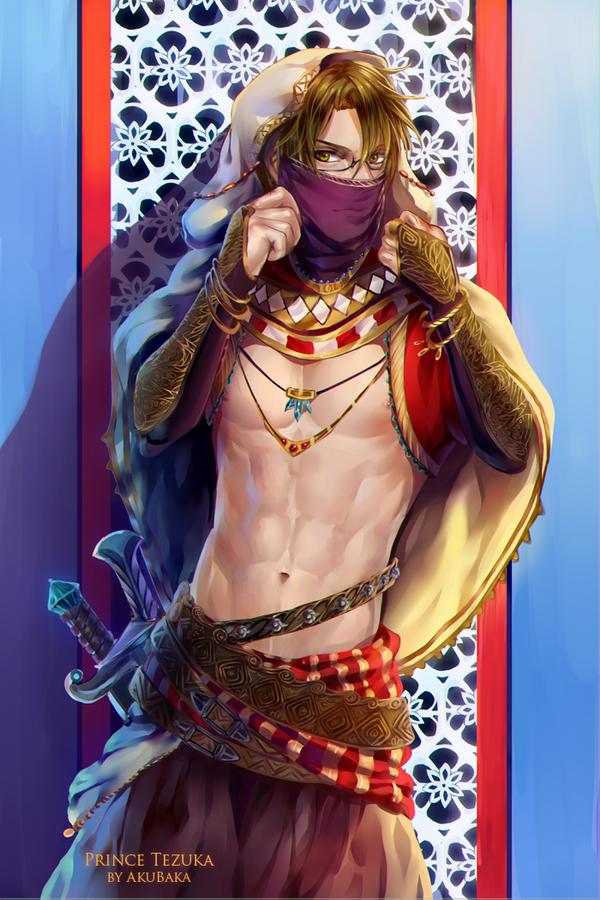 Oriental Prince by AkubakaArts