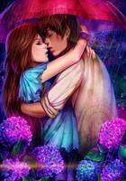 COMM: Ren and Kelsey by AkubakaArts
