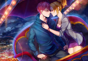 COMM: Keiko and Ryo by AkubakaArts