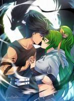 COMM: Hiei and Astoria by AkubakaArts