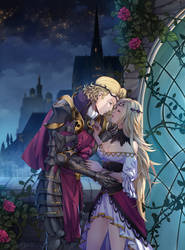 COMM: Xander and Cosette by AkubakaArts