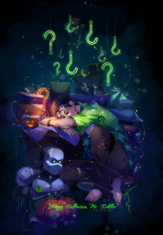 Happy Halloween, Mr. Nygma by AkubakaArts