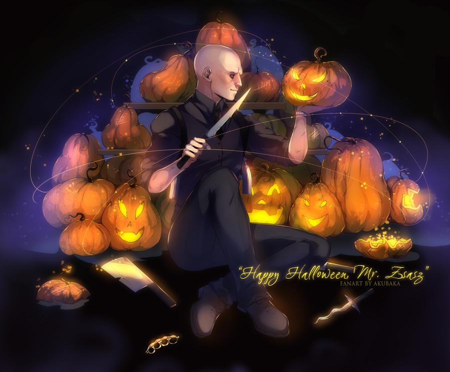 Happy Halloween, Mr. Zsasz by AkubakaArts