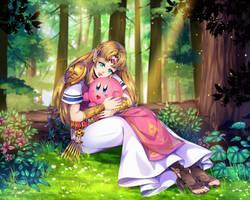 COMM: Zelda and Kirby