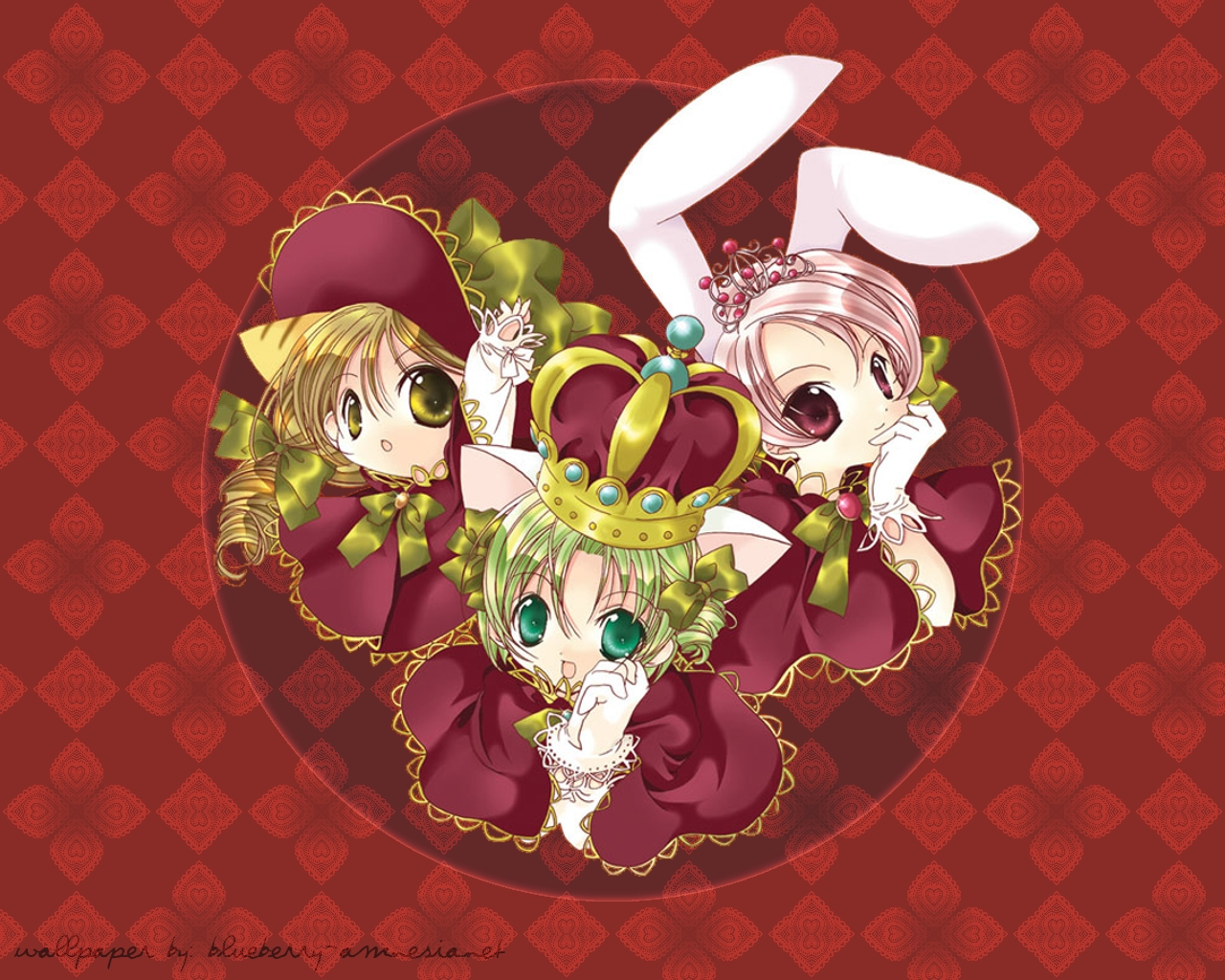 Di Gi Charat Wallpaper by nover