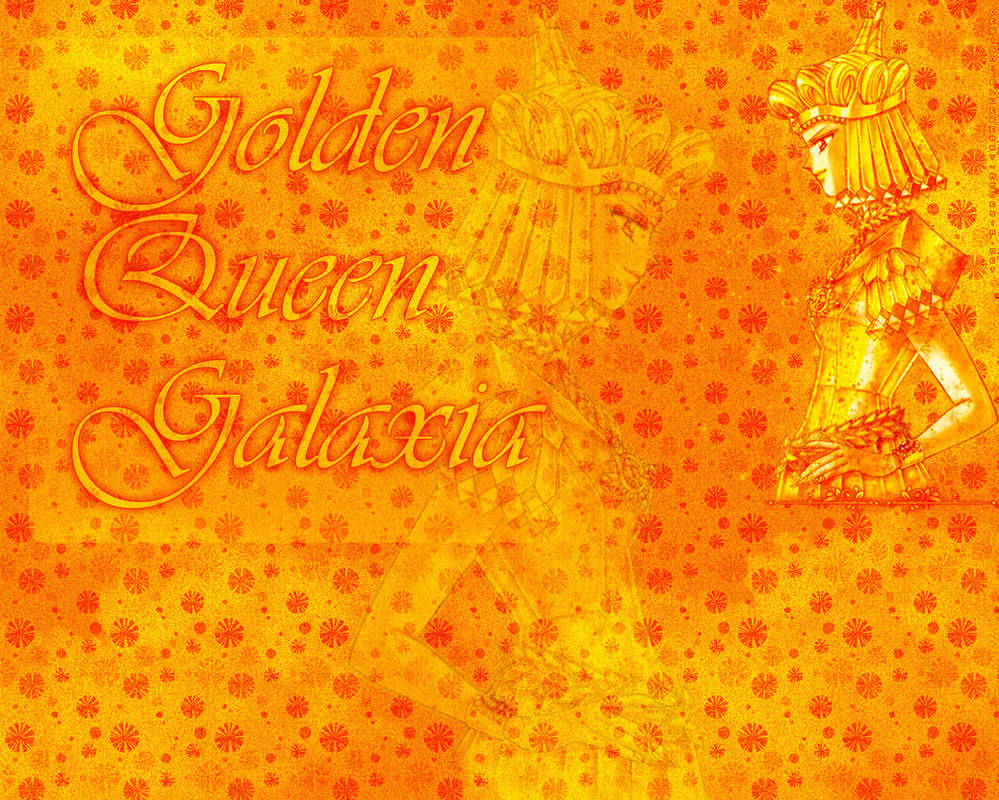 GoldenQueenGalaxia-Wallpaper by nover