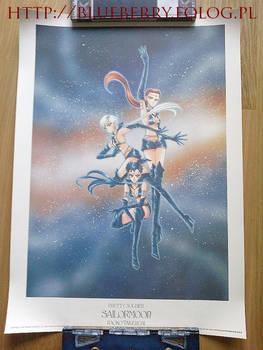 Sailor Moon Starlights 1000 Limited Spanish Poster