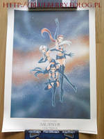 Sailor Moon Starlights 1000 Limited Spanish Poster by nover