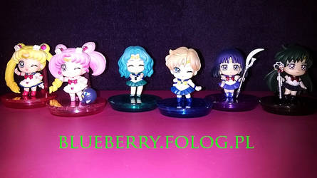 Petit Chara Sailor Moon Atarashii Figures by nover