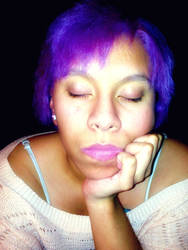 My new hair color. by ArtNoobly