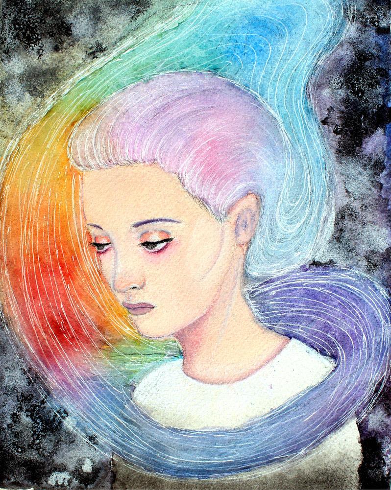 Schizophrenia by ArtNoobly