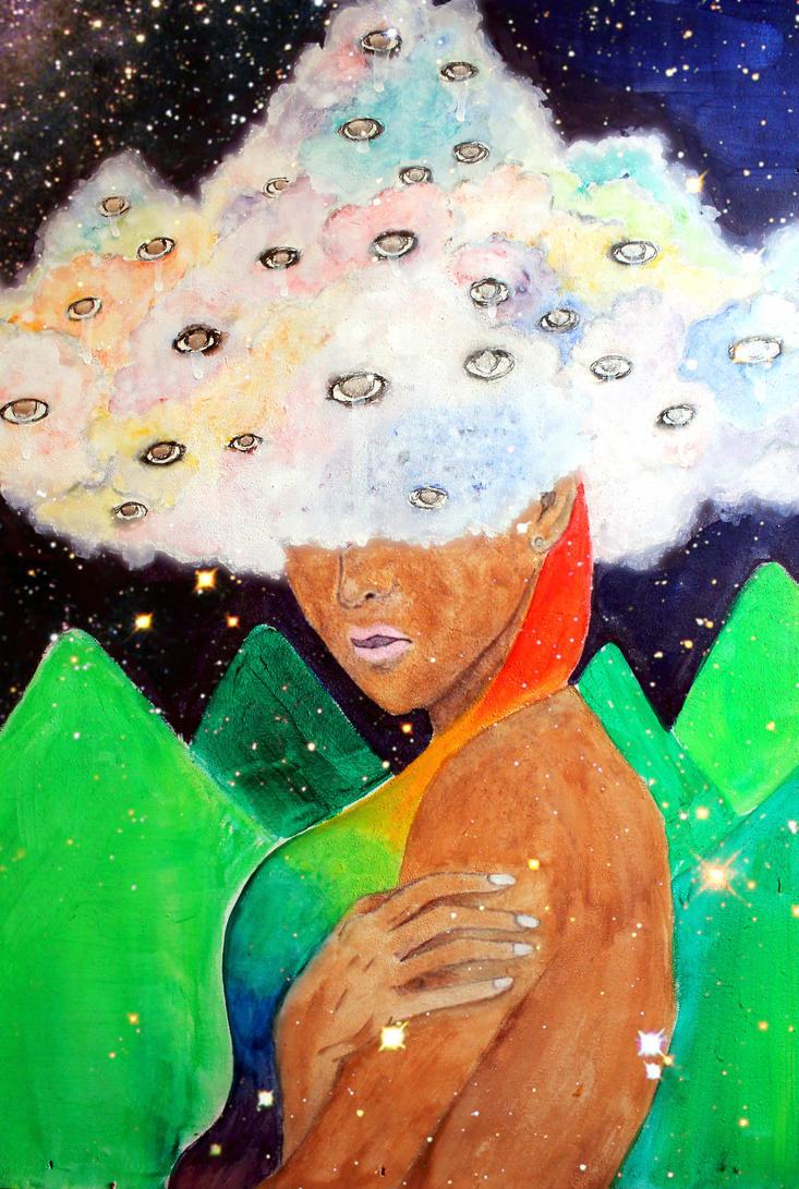 Glow Cloud. by ArtNoobly