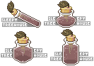 Sleepy Treehouse Potions by littlegrimoire