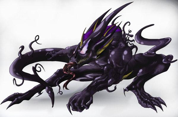 Symbiote Lizard by jorgerhein on DeviantArt