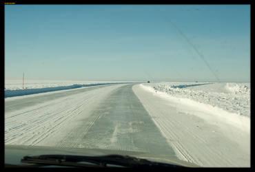 The Ice Bridge by sirlatrom