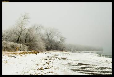 Snow On The Beach by sirlatrom
