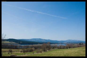Czech spring landscape by sirlatrom