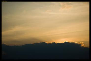 Strakonice sunset by sirlatrom