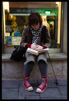 devBlania studying by sirlatrom