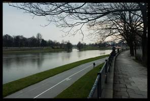 River near Kazimierz by sirlatrom