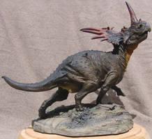 Styracosaurus wip by Gorgosaurus