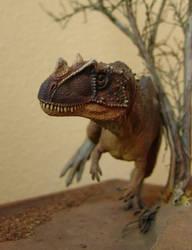 Ceratosaurus scratch by Gorgosaurus