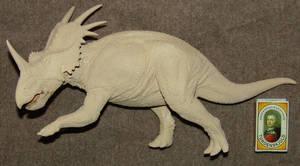 1/18 Styracosaurus wip