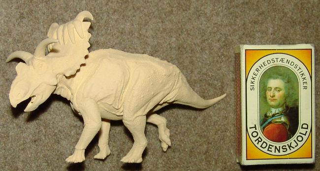1/40 Kosmoceratops ready for paint by Gorgosaurus