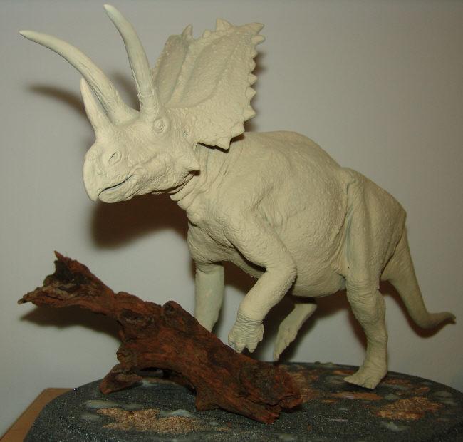 Pentaceratops rising