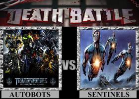 Autobots vs. Sentinels by Hybrid55555