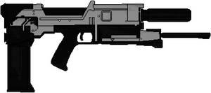 Westinghouse M-27 Phased Plasma Rifle (Terminator) by Hybrid55555