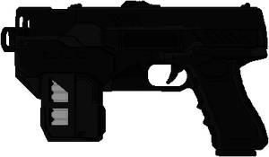 Lawgiver (Dredd) by Hybrid55555