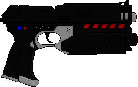 Lawgiver 2 (Judge Dredd) by Hybrid55555