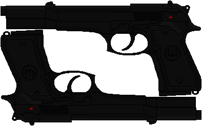 Selene's Custom Beretta 92FS (Underworld) by Hybrid55555